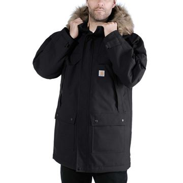 ΜΠΟΥΦΑΝ QUICK DUCK SAWTOOTH PARKA 102728 BLACK - CARHARTT