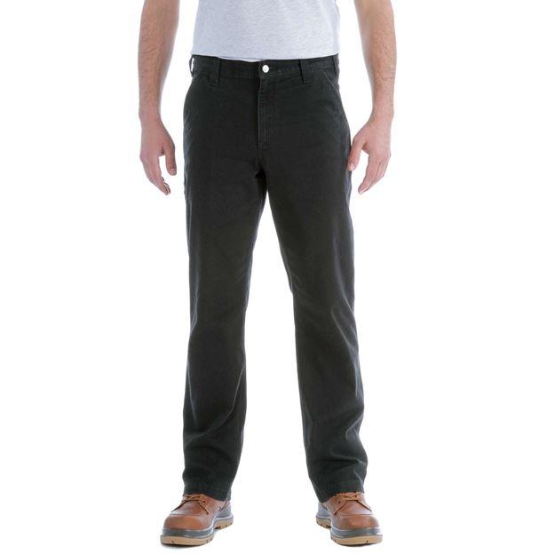 Παντελόνι STRETCH DUNGAREE 103339 BLK - CARHARTT