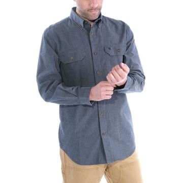 ΠΟΥΚΑΜΙΣΟ FORT SOLID LONG SLEEVE SHIRT S202 DBC