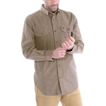 ΠΟΥΚΑΜΙΣΟ FORT SOLID LONG SLEEVE SHIRT S202 DTC