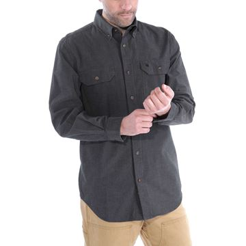 ΠΟΥΚΑΜΙΣΟ FORT SOLID LONG SLEEVE SHIRT S202 BKC