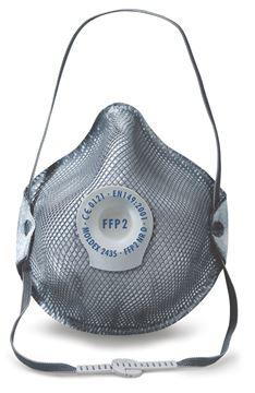 Μάσκα μιας χρήσης MOLDEX SMART SPECIAL 2435 Ενεργού Άνθρακα FFP2 NR D Ventex Valve