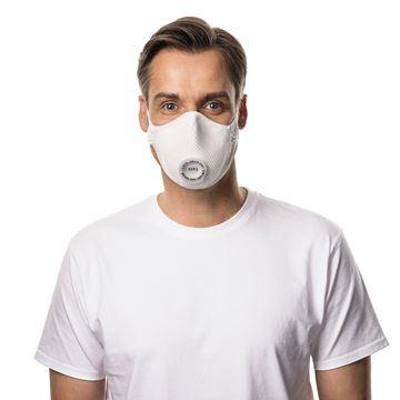 Μάσκα μιας χρήσης MOLDEX SMART  SOLO 2495 FFP2 NR D Ventex Valve