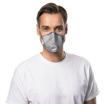 Μάσκα μιας χρήσης MOLDEX SMART SPECIAL 2535 Ενεργού Άνθρακα FFP3 NR D Ventex Valve