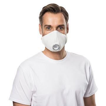 Μάσκα πολλαπλών χρήσεων MOLDEX AIR PLUS  3405 FFP3 R D Vendex Valve