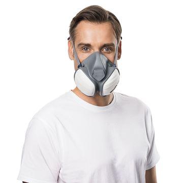 Μάσκα ημίσεως προσώπου MOLDEX COMPACT 5120 FFA1P2 R D
