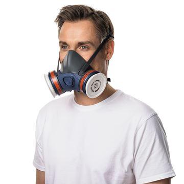 Μάσκα ημίσεως προσώπου MOLDEX 7002 - MEDIUM