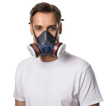 Μάσκα ημίσεως προσώπου MOLDEX 7003 - LARGE