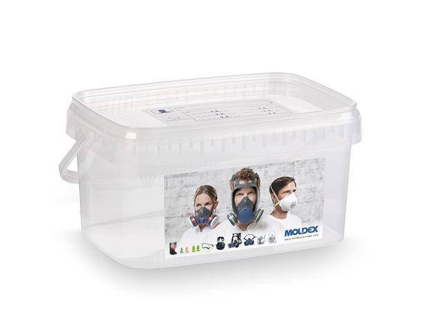 Κουτί αποθήκευσης και μεταφοράς για μάσκες ημίσεως της MOLDEX 7995