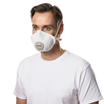 Μάσκα πολλαπλών χρήσεων MOLDEX AIR PLUS  PROVALVE 3408 FFP3 R D