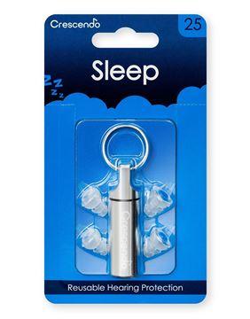 Ωτοασπίδες με τεχνολογία φίλτρων Crescendo Sleep 25