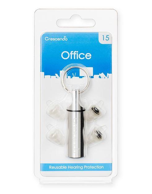 Ωτοασπίδες με τεχνολογία φίλτρων Crescendo Office 15