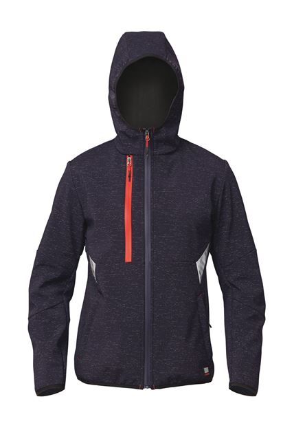 ΜΠΟΥΦΑΝ ΕΡΓΑΣΙΑΣ & OUTDOOR SIGGI FINDER SOFTSHELL JACKET BLUE