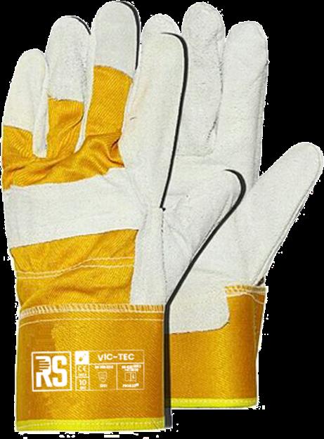 RS VIC TEC δερματοπάνινα γάντια εργασίας