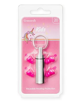 Παιδικές ωτοασπίδες με τεχνολογία φίλτρων Crescendo Kids Unicorn 20