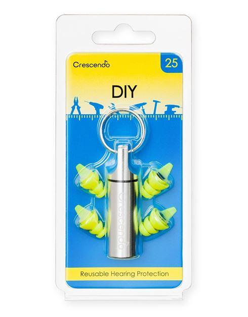 Ωτοασπίδες με τεχνολογία φίλτρων Crescendo DIY 25