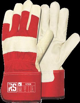 RS STIER δερματοπάνινα γάντια εργασίας