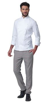 ΣΑΚΑΚΙ ΣΕΦ SIGGI HORECA ACHILLE CHEF JACKET WHITE