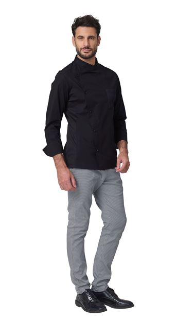 Σακάκι Σεφ  SIGGI RICHARD CHEF JACKET BLACK
