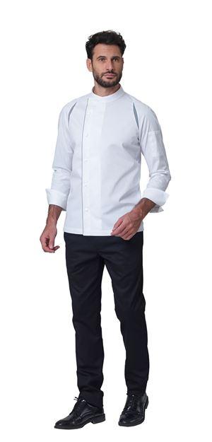 ΣΑΚΑΚΙ ΣΕΦ SIGGI HORECA MARLON CHEF JACKET WHITE
