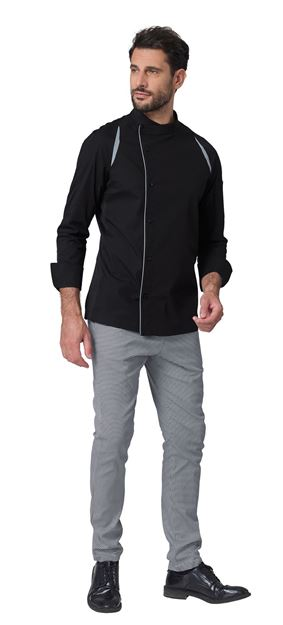 ΣΑΚΑΚΙ ΣΕΦ SIGGI HORECA MARLON CHEF JACKET BLACK