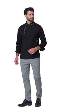 ΣΑΚΑΚΙ ΣΕΦ SIGGI HORECA XANDER CHEF JACKET BLACK