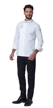 ΣΑΚΑΚΙ ΣΕΦ SIGGI HORECA XANDER CHEF JACKET WHITE