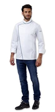 ΣΑΚΑΚΙ ΣΕΦ SIGGI HORECA ALAN CHEF JACKET WHITE