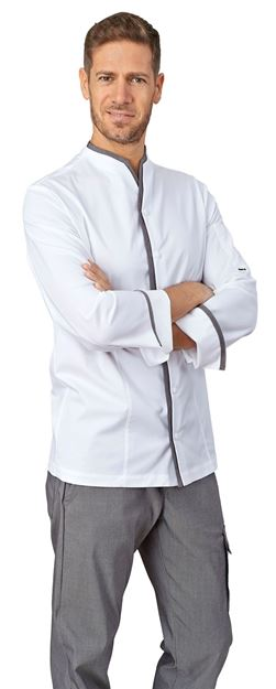 ΣΑΚΑΚΙ ΣΕΦ SIGGI HORECA VICTOR CHEF JACKET GREY