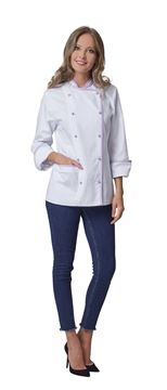ΣΑΚΑΚΙ ΣΕΦ ΓΥΝΑΙΚΕΙΟ SIGGI HORECA KIKO WOMAN CHEF JACKET LILAC