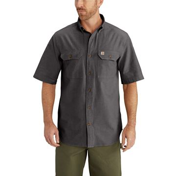 ΠΟΥΚΑΜΙΣΟ S200 FORT SOLID SHORT SLEEVE SHIRT BKC