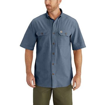 ΠΟΥΚΑΜΙΣΟ S200 FORT SOLID SHORT SLEEVE SHIRT DBC