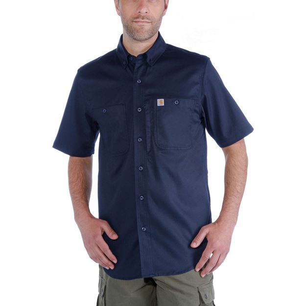 ΠΟΥΚΑΜΙΣΟ CARHARTT RUGGED PROFESSIONAL SHIRT 102537 NAVY