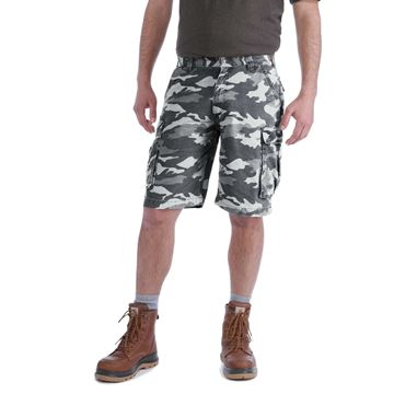 Βερμούδα RUGGED CARGO CAMO SHORT 100279 GREY CAMO - CARHARTT