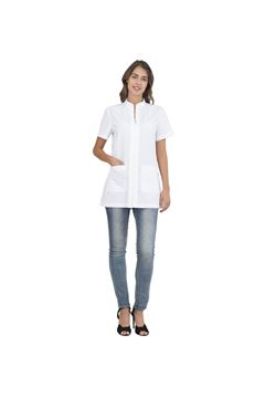ΓΥΝΑΙΚΕΙΑ ΜΠΛΟΥΖΑ SIGGI HORECA ALIX LADIES TUNIC WHITE