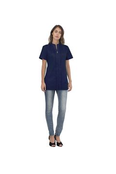 ΓΥΝΑΙΚΕΙΑ ΜΠΛΟΥΖΑ SIGGI HORECA ALIX LADIES TUNIC BLUE