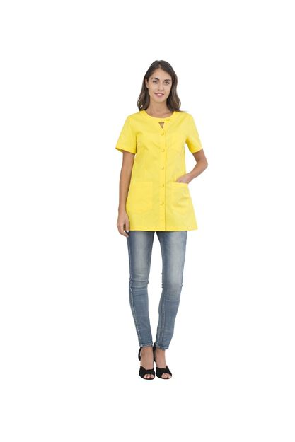 ΓΥΝΑΙΚΕΙΑ ΜΠΛΟΥΖΑ SIGGI HORECA ALPHA LADIES TUNIC YELLOW