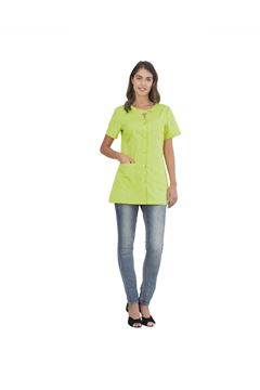 ΓΥΝΑΙΚΕΙΑ ΜΠΛΟΥΖΑ SIGGI HORECA ALPHA LADIES TUNIC GREEN