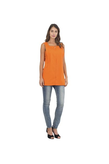 ΓΥΝΑΙΚΕΙΑ ΡΟΜΠΑ SIGGI HORECA FRANCIS LADIES PINAFORE ORANGE