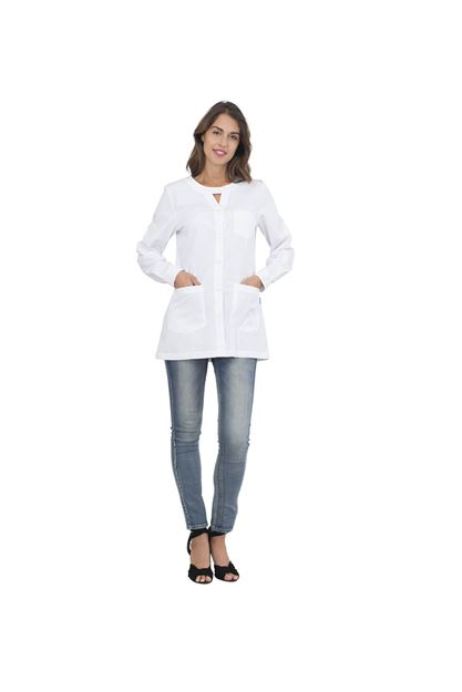 ΓΥΝΑΙΚΕΙΑ ΡΟΜΠΑ SIGGI HORECA AVERILL LADIES TUNIC WHITE