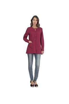 ΓΥΝΑΙΚΕΙΑ ΡΟΜΠΑ SIGGI HORECA AVERILL LADIES TUNIC BORDEAUX