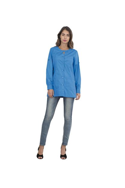 ΓΥΝΑΙΚΕΙΑ ΡΟΜΠΑ SIGGI HORECA AVERILL LADIES TUNIC AZURE