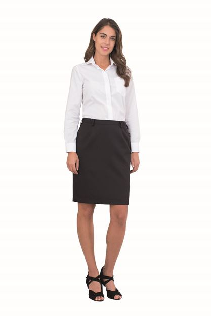 ΦΟΥΣΤΑ ΓΥΝΑΙΚΕΙΑ SIGGI HORECA STEP ONE SKIRT BLACK