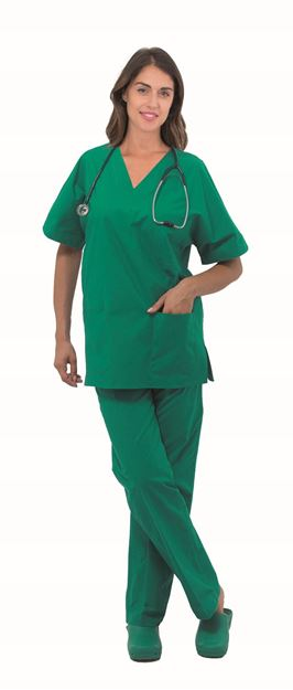 UNISEX ΜΠΛΟΥΖΑ ΙΑΤΡΟΥ SIGGI STEP ONE MEDICAL TUNIC GREEN