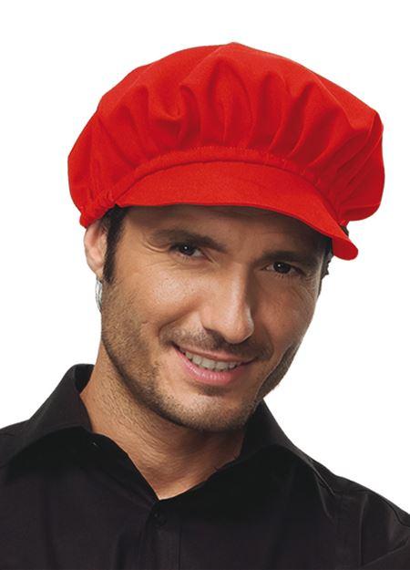 UNISEX ΣΚΟΥΦΟΣ - ΚΑΠΕΛΟ SIGGI HORECA HOLLY CAP RED
