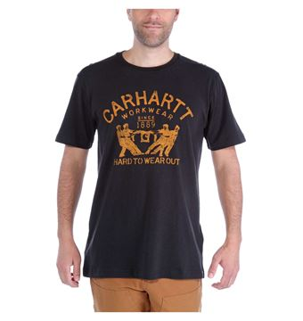 T-SHIRT MADDOCK HARD TO WEAR OUT 102097 BLK - CARHARTT