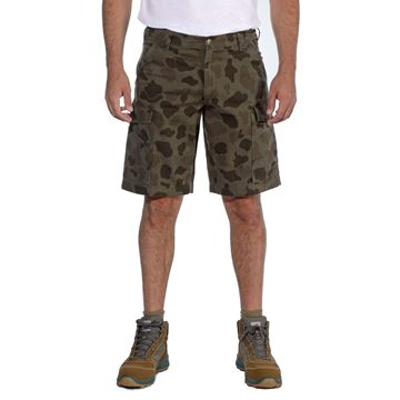 Βερμούδα 103542 RIGBY RUGGED CARGO SHORT DUCK CAMO CARHARTT
