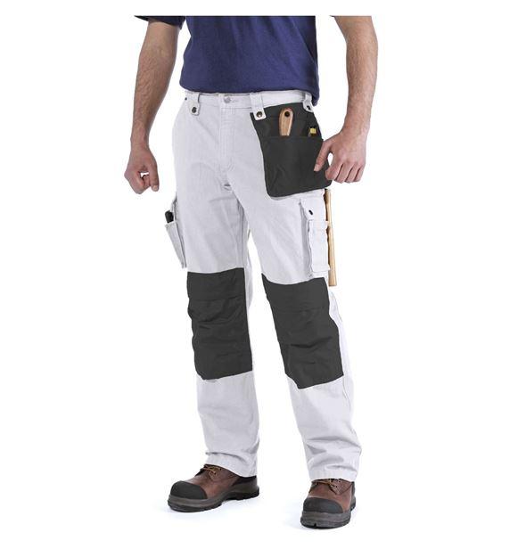 Παντελόνι EMEA MULTI POCKET RIPSTOP PANT WHITE - CARHARTT 100233