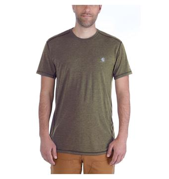 ΜΠΛΟΥΖΑΚΙ CARHARTT 102960 FORCE EXTREMES SHORT SLEEVE T-SHIRT MOSS