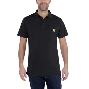 CARHARTT ΜΠΛΟΥΖΑΚΙ FORCE DELMONT POCKET POLO 103569